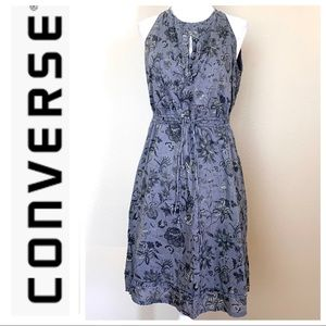 CONVERSE ONE STAR Lined FLORAL print DRESS